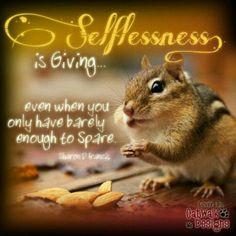 selflessnessisgiving