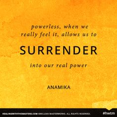 powerlesssurrender