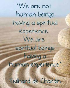 spiritual being human