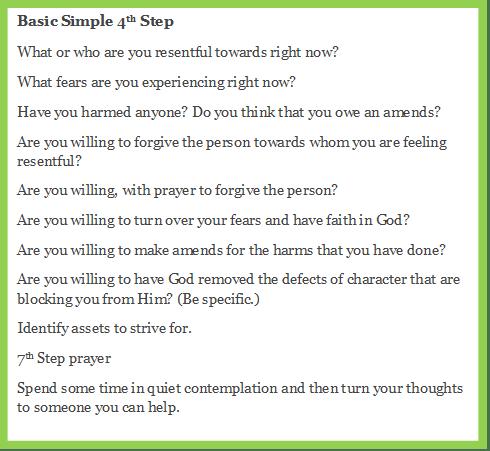 Basic Simple 4th Step Green edge