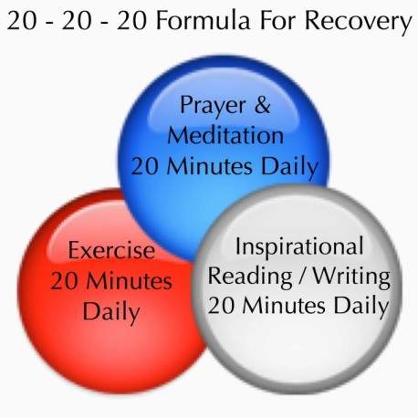 20-20-20 formula for recovery