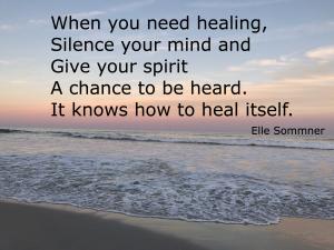 silence & healing